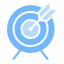 archery, goal, sport, target icon