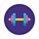 gym, lift, sport, sports, strength, weightlifting icon