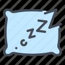 sleep, pillow, sleeping, schedule