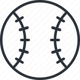 activity, ball, baseball, game, sports icon