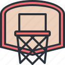 basketball, game, hoop, nba, sports icon