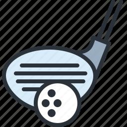 ball, club, game, golf, sports icon