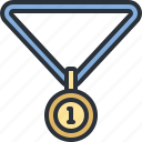award, medal, prize, sports, winner icon