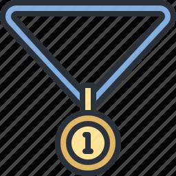 award, medal, prize, sports, winner icon