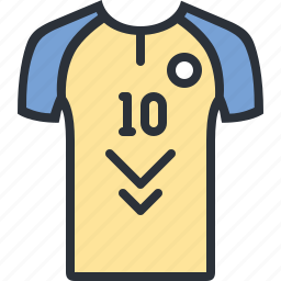 game, jersey, kit, playmaker, shirt, sports icon