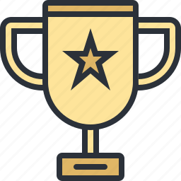award, cup, prize, sports, trophy, winner icon