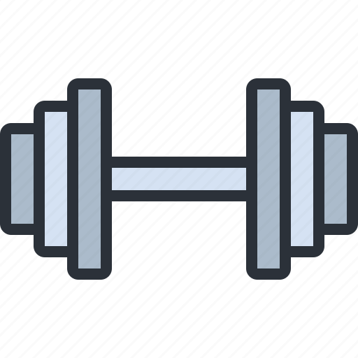 dumbbells, fitness, gym, health, sports, weights icon