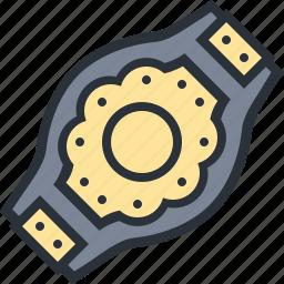 belt, boxing, champion, sports, winner, wrestling icon