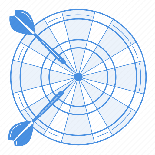 darts, game, goal, play, sport, target icon