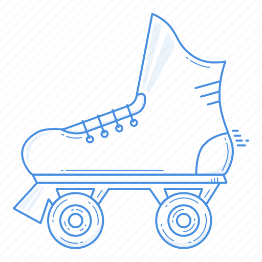 equipment, roller, roller skating, rollerskating, skate, sport icon