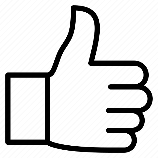 favorite, good, hand, like, thumb, up, vote icon