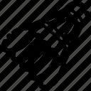 badminton, racquet, shuttlecock, sport icon