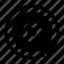 aim, arrow, dart, target icon
