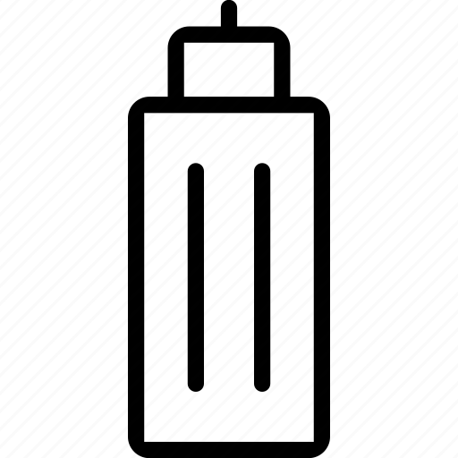 bottle, fitness, gym, of, sport, water icon