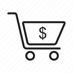 basket, buying, cart, purchase, shopping, trolley icon