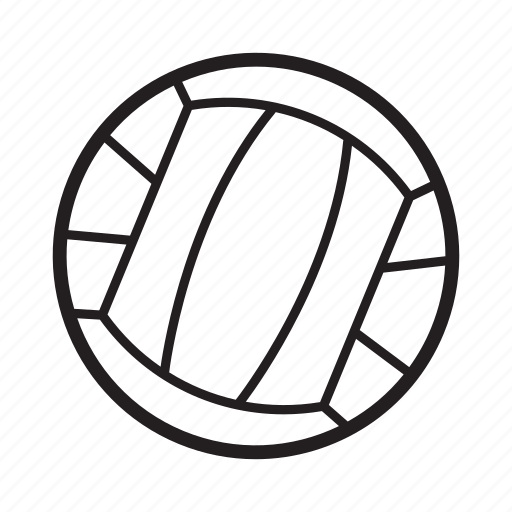 Game, sport, volleyball, volleyball ball icon - Download on Iconfinder