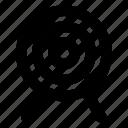 archery, bullseye, goal, sport, target icon