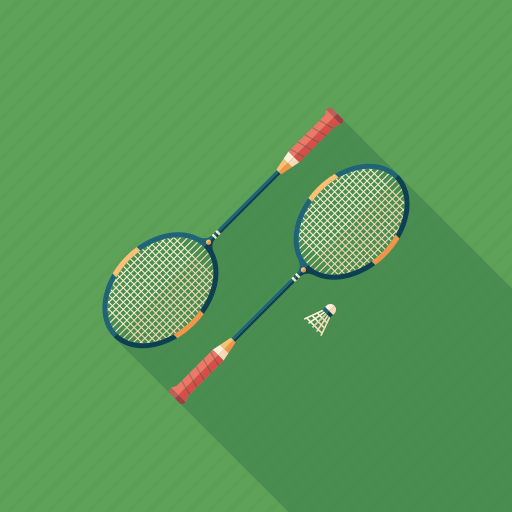 badminton, equipment, game, racket, recreation, shuttlecock, sport icon