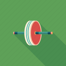 equipment, exercise, fitness, roller, sport, training, wheel icon