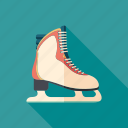 boot, equipment, exercise, figure, shoe, skating, sport icon