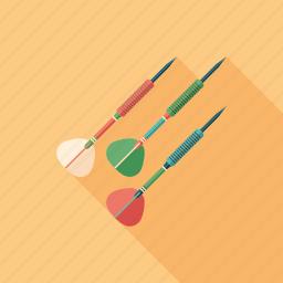 dart, darts, equipment, game, recreation, sport, training icon