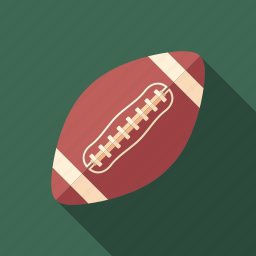 american, ball, equipment, football, game, rugby, sport icon