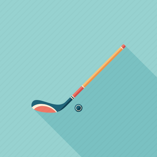 equipment, game, hockey, puck, recreation, sport, stick icon