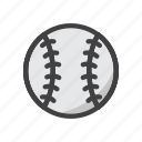 ball, baseball, baseball game, game, sphere, sport icon