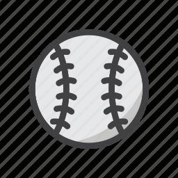 ball, baseball, baseball game, game, sphere, sport icon