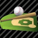sport, field, ball, baseball, stick, game, strategy, sports