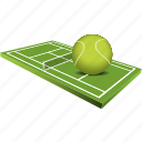 training, winner, game, sports, tennis, ball, sport