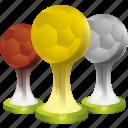 achievement, award, ball, best, football, medal, prize, sport, win, winner icon