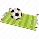 ball, field, football, game, green, play, player, soccer, sport, sports icon