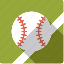 american, ball, baseball, leather, sports, team sports icon