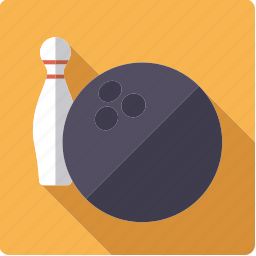 ball, bowling, pin, sports icon