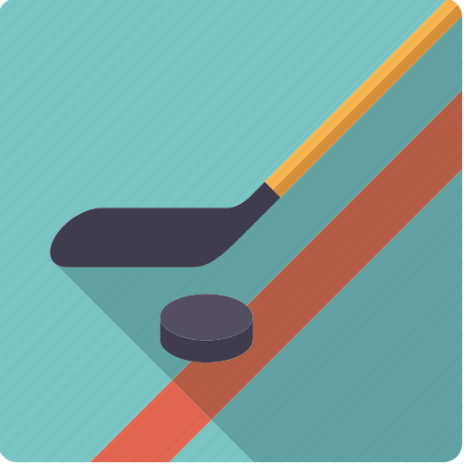 bat, ice hockey, puck, sports, stick, team sports icon