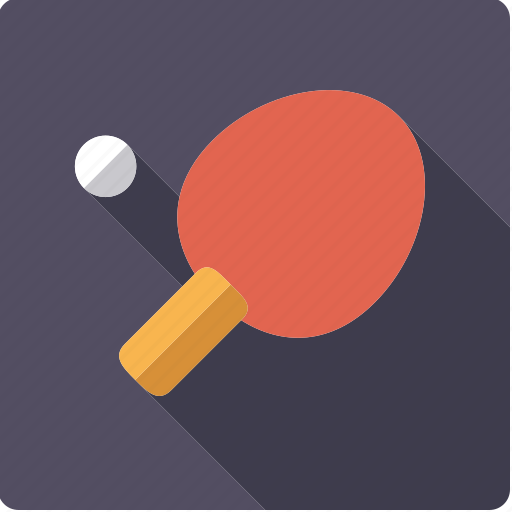 ball, bat, racket, sports, table tennis icon