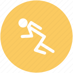 jogger, jogging, man running, racer, runner, sportsman icon