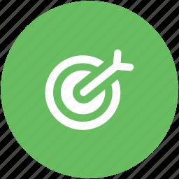 archery, archery arrow, bullseye, dart, dartboard, optimization, target icon