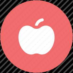 apple, diet, fruit, healthy diet, healthy food icon