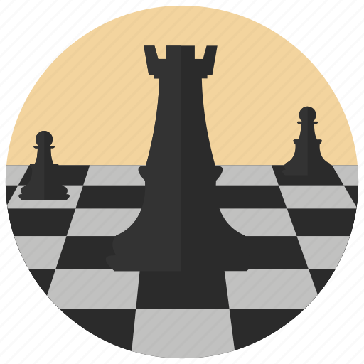 chess, game, logic, pieces, sports, strategy icon