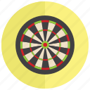 darts, sports, target, throw icon