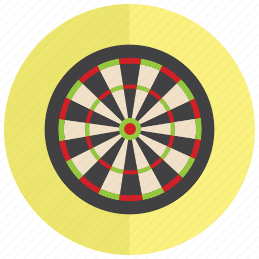 darts, sports, target, throw icon