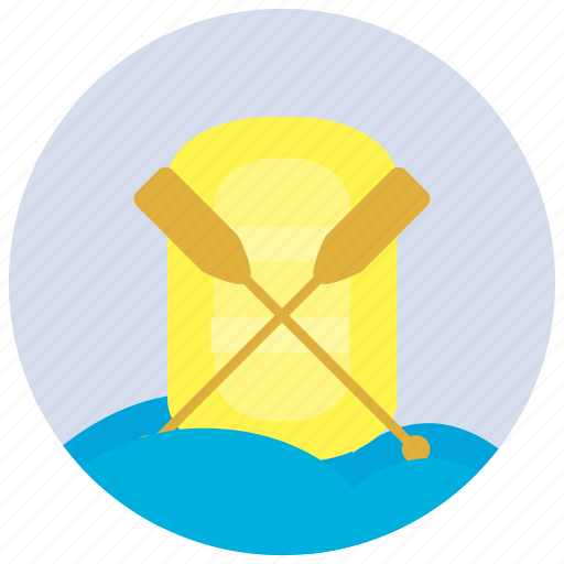 Paddles, paddling, sports, waves icon - Download on Iconfinder