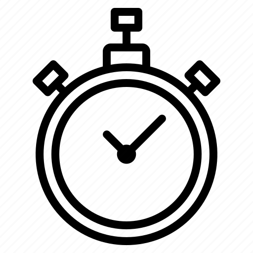 Stopwatch, equipment, game, sports icon