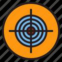 archery, bullseye, arrow, target