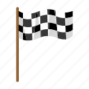 attribute, competitions, finish, flag, inventory, sport, start icon