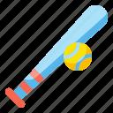 ball, baseball, bat, play, sport, sports icon