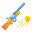 shooting, weapon icon