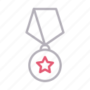 award, badge, medal, sport, winner icon